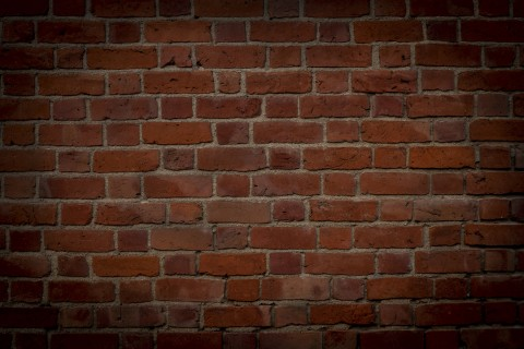 Background of tinted bricks at the edges