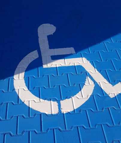 Parking for disabled