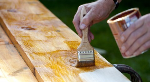 Painting Boards with Protective Paint