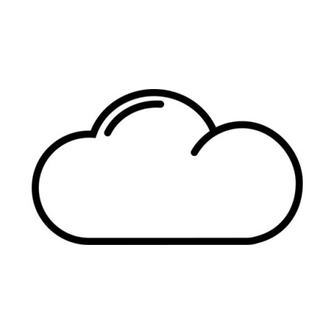 Cloud free icon