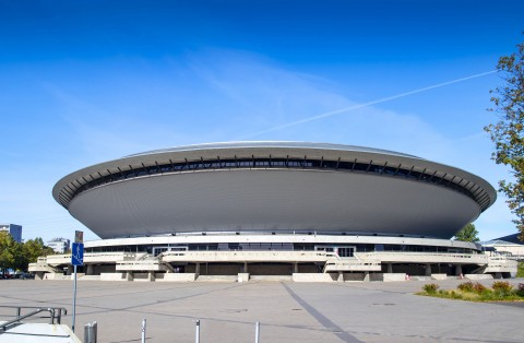Saucer? Sport and entertainment hall